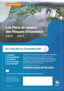 Enquête publique: Plans de Gestion des Risques d'Inondation 2022-2027