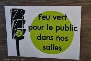 Feu vert pour le public