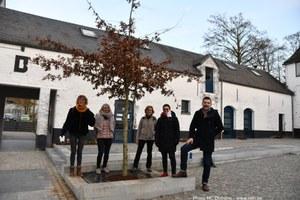 Le chêne des Cho7 inauguré au Biéreau
