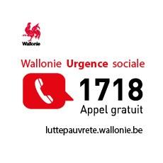 Urgence sociale? Appelez le 1718